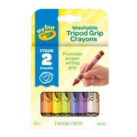 Crayola 8 My First Washable Triangular Crayons