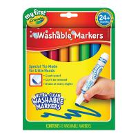 Crayola 8 My First Washable Round Nib Markers