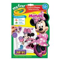 Crayola My First Color & Activity Book Minnie Mouse