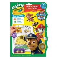 Crayola My First Color & Activity Book Paw Patrol
