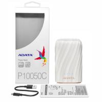 ADATA 10050 mAh USB C Power Bank - White