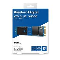 WD 250GB SN500 Blue M.2 NVMe SSD (WDS250G1B0C)
