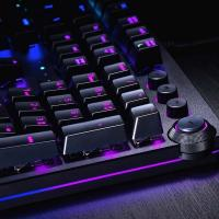 Razer Huntsman Elite RGB Opto-Mechanical Gaming Keyboard - Purple Switch