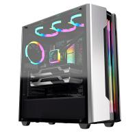 Cougar Gemini-S RGB Tempered Glass Mid Tower ATX Case - Silver