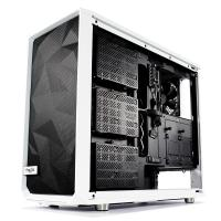 Fractal Design Meshify S2 Tempered Glass USB Type C Mid Tower EATX Case - White