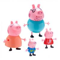 Peppa Pig 4 Figures Family Pack