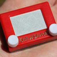 Worlds Smallest Rubiks & Etch a Sketch Assorted