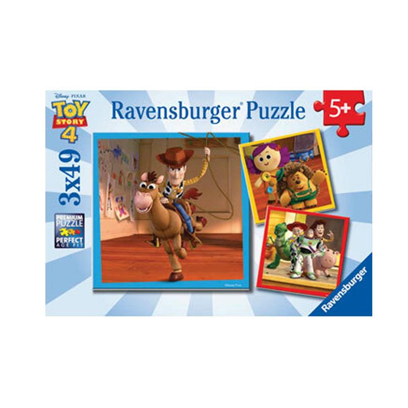 Ravensburger Disney Toy Story 4 Puzzle 3x49pcs