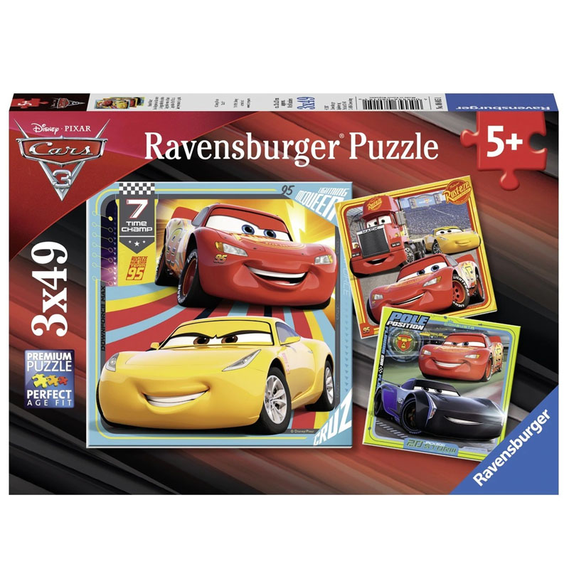 Ravensburger Disney Cars 3 Collection 3x49pcs