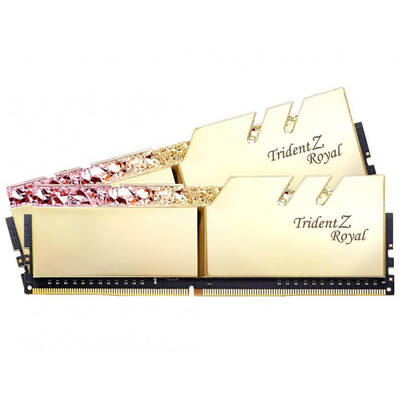 G.Skill 32GB (2x16GB) F4-3600C19D-32GTRG Royal 3600MHz DDR4 - Gold