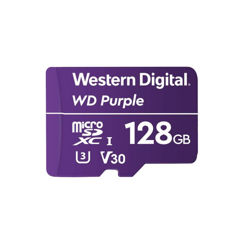 Western Digital Purple 128GB C10 100MB/s MicroSDXC Card