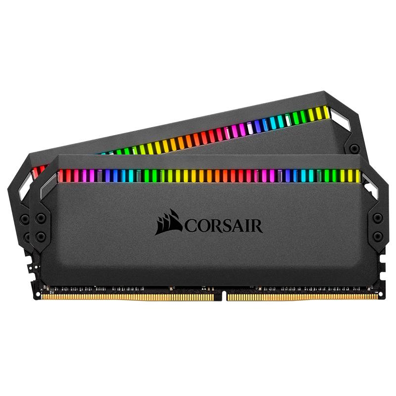 Corsair 16GB (2x8GB) CMT16GX4M2Z3200C16 Dominator Platinum RGB AMD Ryzen 3200MHz DDR4 RAM