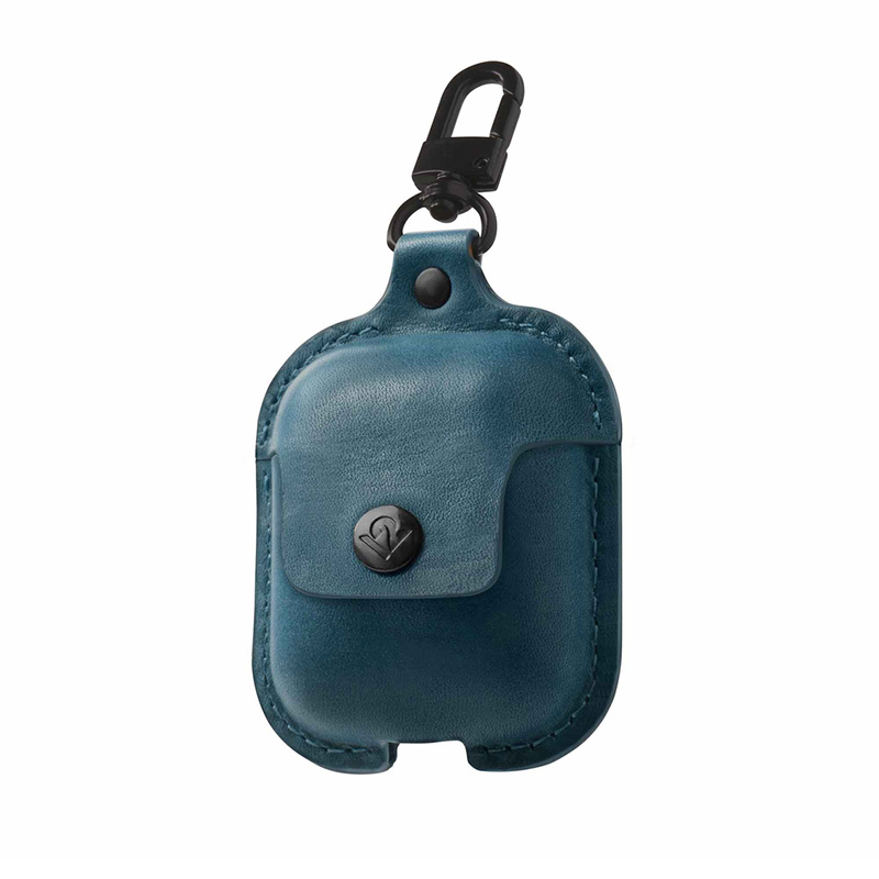 TwelveSouth Airsnap Leather Case for Airpods - Teal