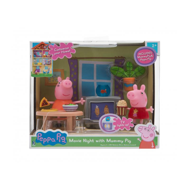 Peppa Pig Little Rooms Movie Night