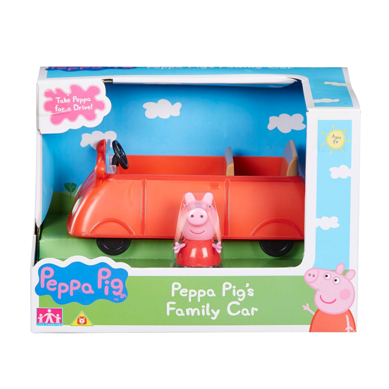 Peppa Pig Vehicles Family Car