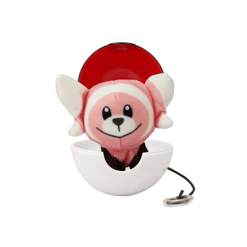 Pokemon Pop Action Pokeballs Stufful & Poke Ball