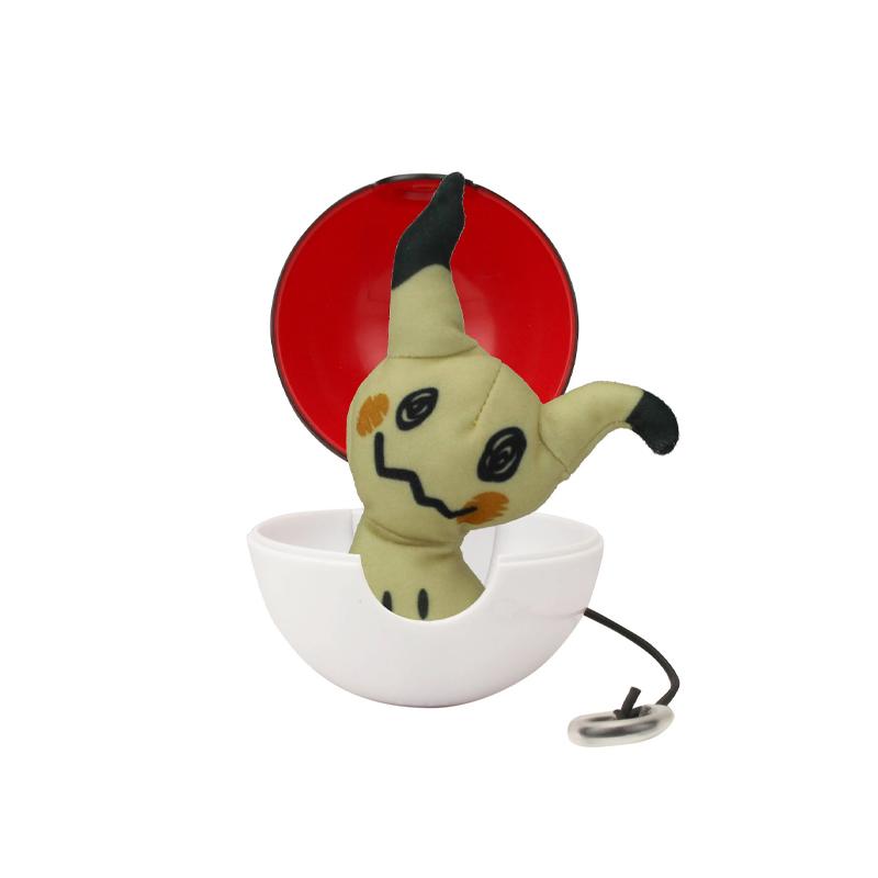Pokemon Pop Action Pokeballs Mimikyu & Poke Ball