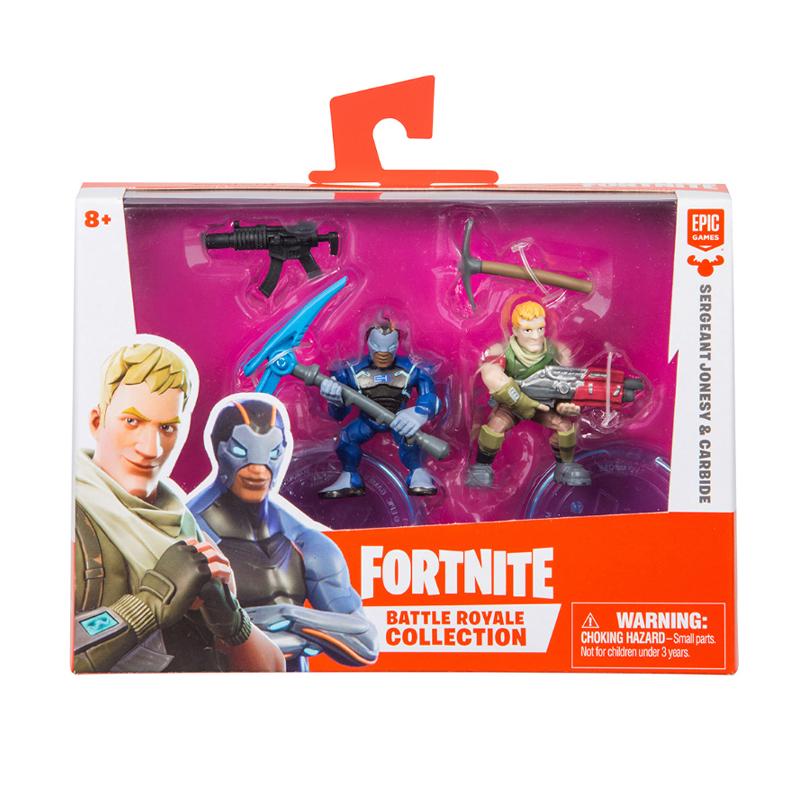 Fortnite Season 1 Duo Figure Pace Sergeant Jonesy & Carbide