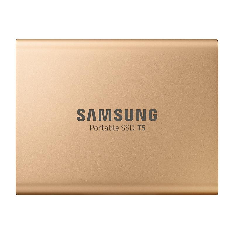 Samsung 500GB T5 External SSD - Rose Gold