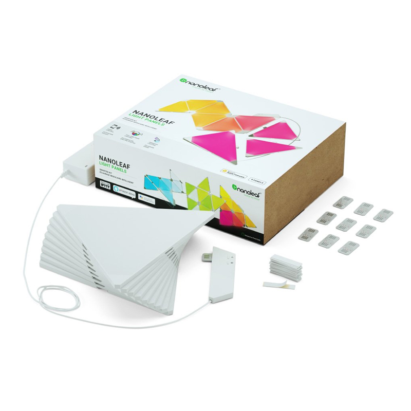 Nanoleaf Light Panels Aurora Smarter Kit 9 Pack