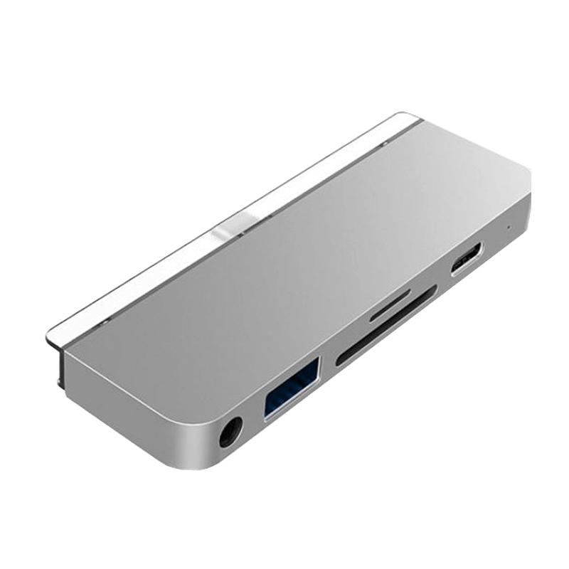 HyperDrive iPad Pro USB-C Multifunction Hub - Silver