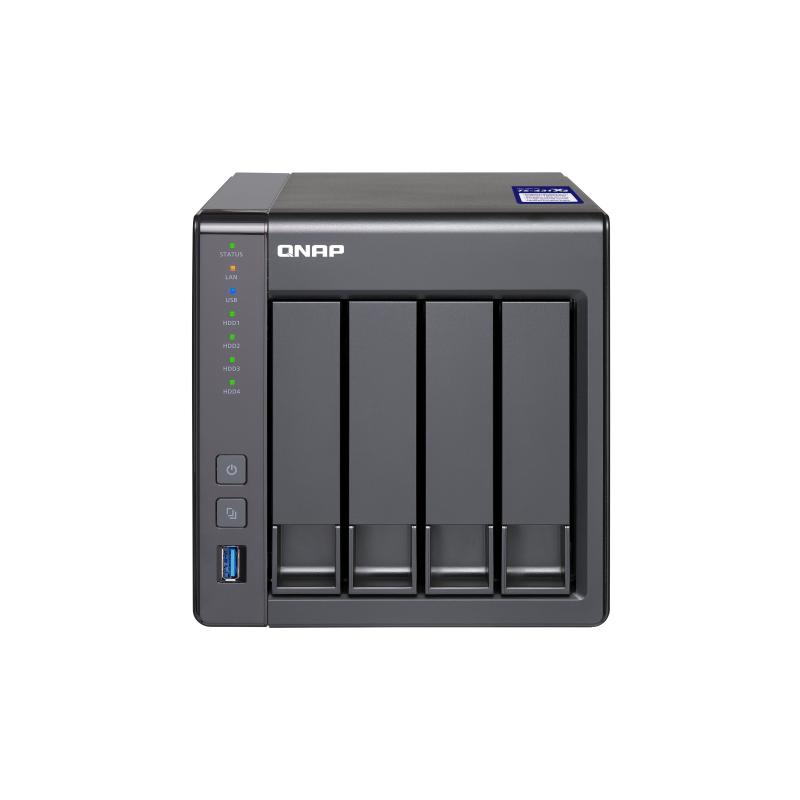 QNAP TS-431X2-2G 4 Bay Quad Core 2GB NAS