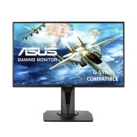 Asus 24.5in FHD TN 165Hz G-Sync Compatible Free-Sync Gaming Monitor (VG258QR)