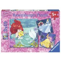 Ravensburger Disney Princesses Adventure 3x49pcs