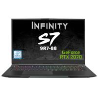 Infinity 17.3in FHD 144Hz i7 9750H RTX 2070 512GB SSD Gaming Laptop (S7-9R7-88)