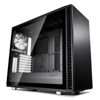Fractal Design Define S2 Tempered Glass Mid Tower ATX Case - Black