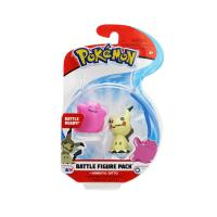 "Pokemon Battle Figure Pack 2"" & 3"" Mimikyu & Ditto"
