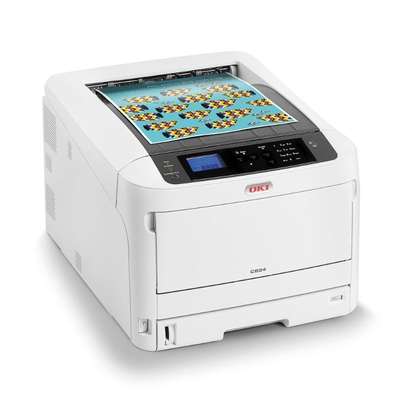 OKI C834DNW A3 Network w Duplex Colour Laser Printer