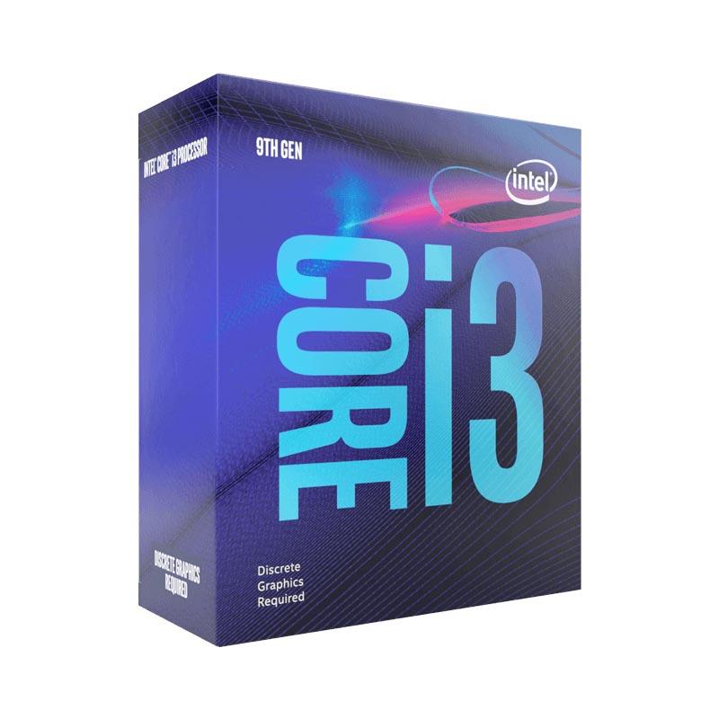 Intel Core i3 9100F Quad Core LGA1151 3.6GHz CPU Processor