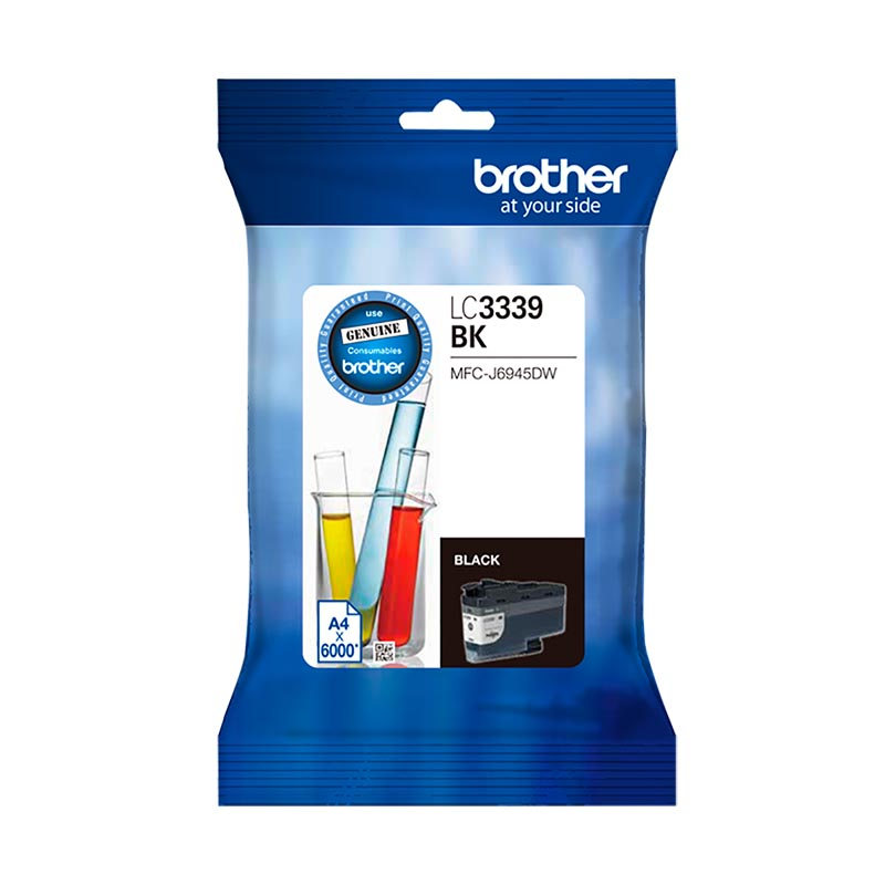 Brother LC-3339XLBK Super High Yield Black Ink Cartridge (6000 page yield)