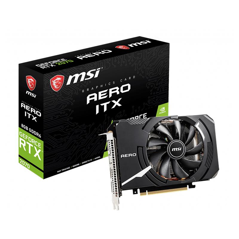 MSI GeForce RTX 2070 AERO ITX 8G Graphics Card