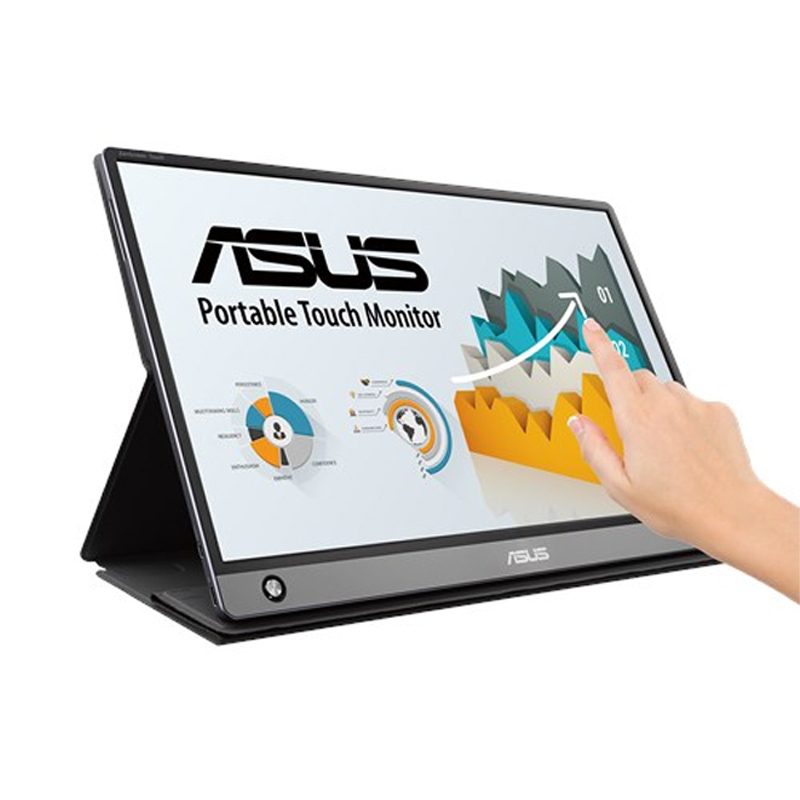 Asus 15.6in FHD Portable USB-C 10-Point Touch Monitor (MB16AMT)