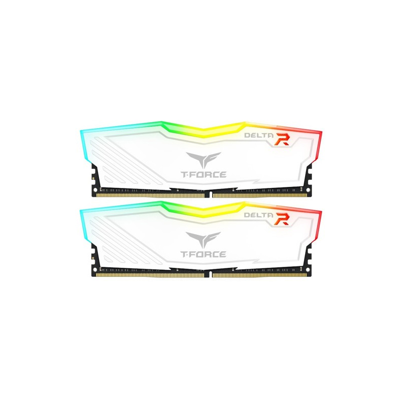 Team Delta RGB TF4D416G3000HC16CDC01 16GB (2x8GB) DDR4 3000MHz White