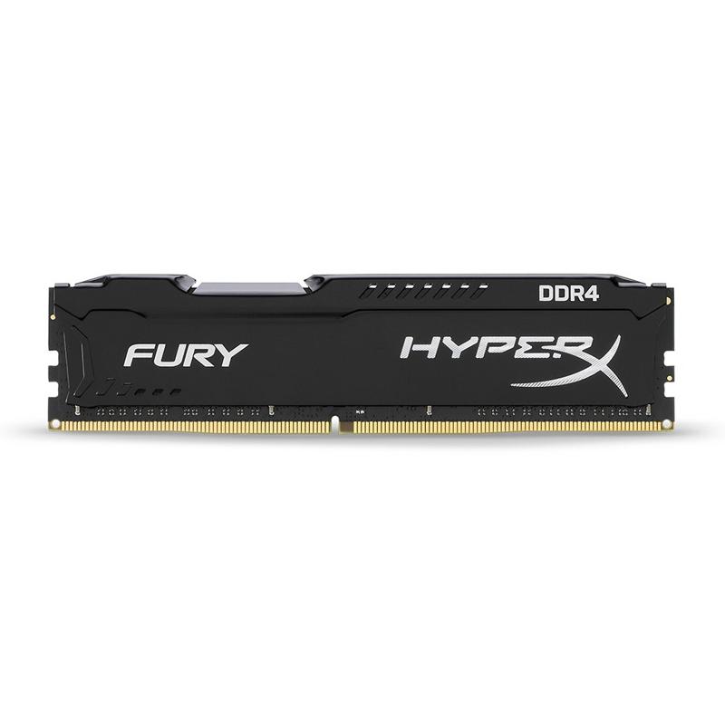 Kingston 16GB (1x16GB) HX426C16FB/16 HyperX Fury 2666MHz RAM - Black
