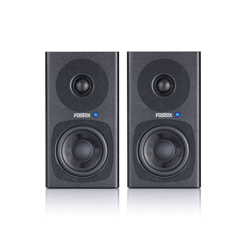 Fostex PM0.3d Active Speaker System Pair - Black