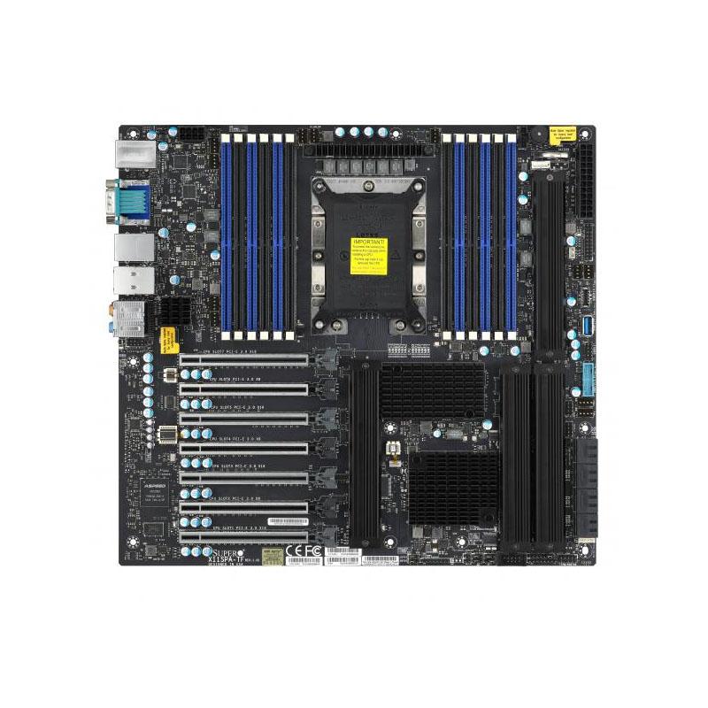 Supermicro X11SPA-TF LGA 3647 E-ATX Server Motherboard