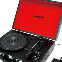 Mbeat Brief Case Style Turnable Recording Player