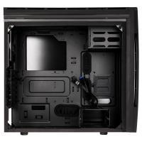 Bitfenix Aurora Black Mid Tower w/Side Panel Window (BFC-ARA-300-KKWSK-RP)
