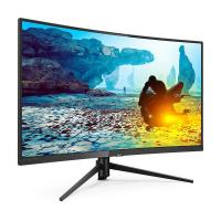 Philips 31.5in FHD VA-LED 144Hz Curved HDMI DP VGA FreeSync Gaming Monitor (322M7C)