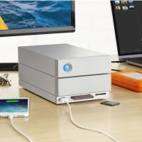 Lacie 8TB 2big Dock Thunderbolt3 & USB-C Enterprise External Hard Drive