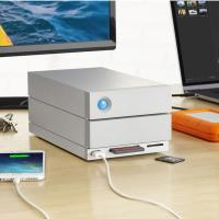 LaCie 28TB 2big Dock External Thunderbolt3 and USB3 Hard Drive