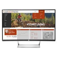HP N270c 27inch FHD VGA HDMI DP Tilt Curved Monitor
