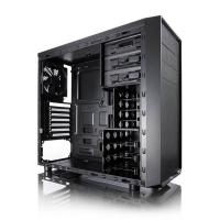 Fractal Design Focus I Mid Tower Case with 500W and Windows - Black