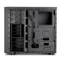 Fractal Design Focus I Mid Tower Case with 500W and Window Side Panel - Black