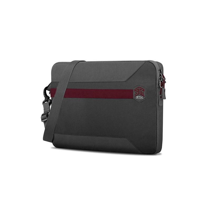 STM 15in Blazer Laptop Sleeve - Granite Grey