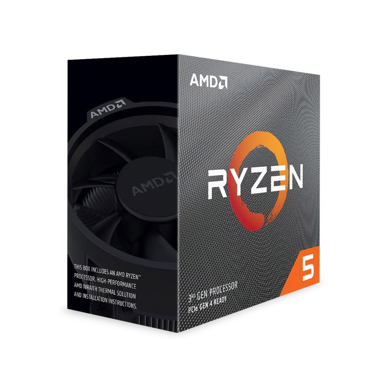 AMD Ryzen 5 3600 6 Core AM4 3.6GHz CPU with Wraith Stealth Cooler